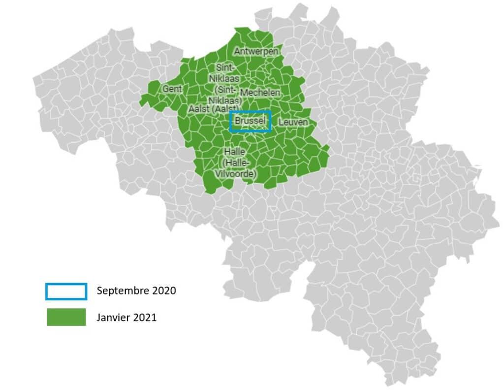 Informations livraison Belgique 1