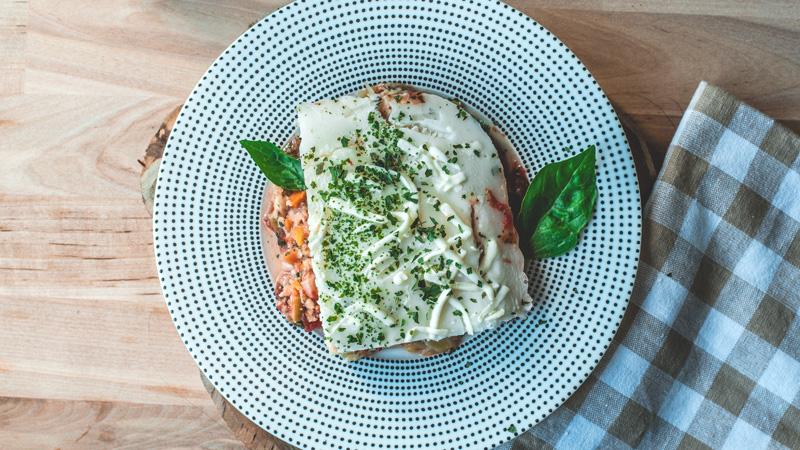 photo lasagne au saumon