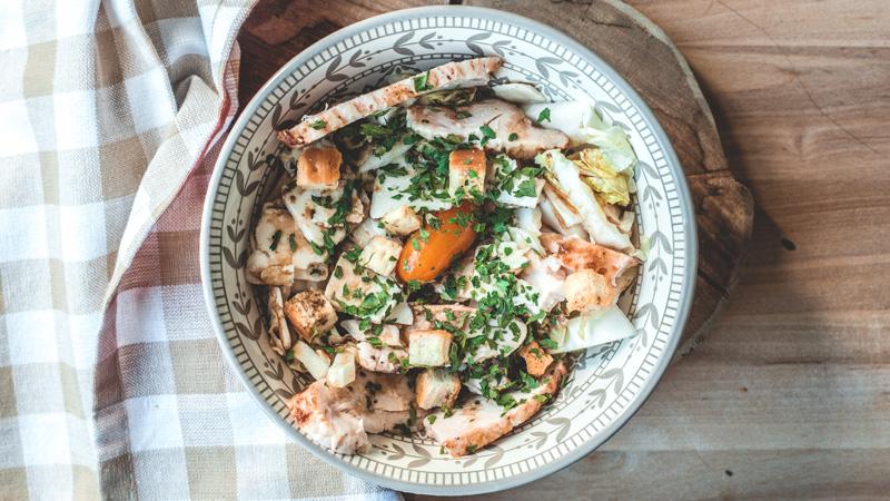 photo de la salade césar de Véro