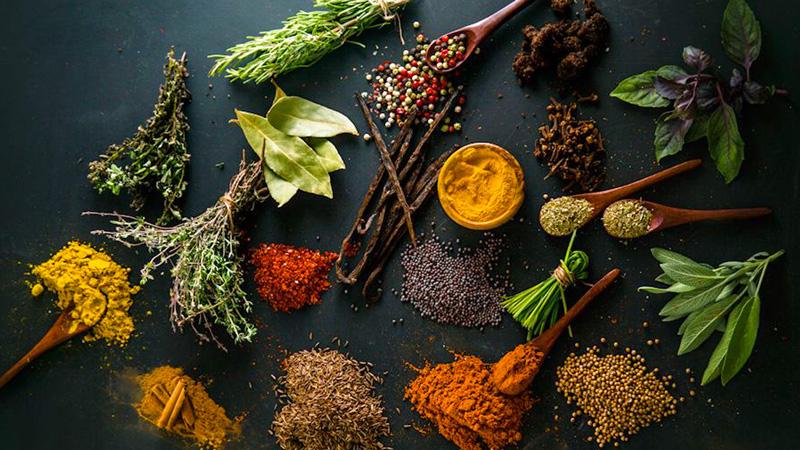 photo aromates et épices
