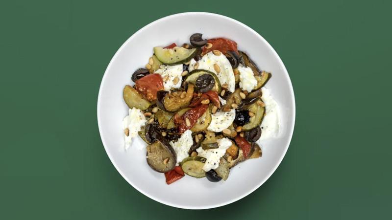 photo salade de légumes rotis