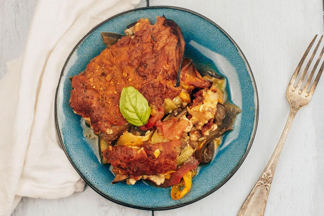 tian-de-légumes-mozzarella