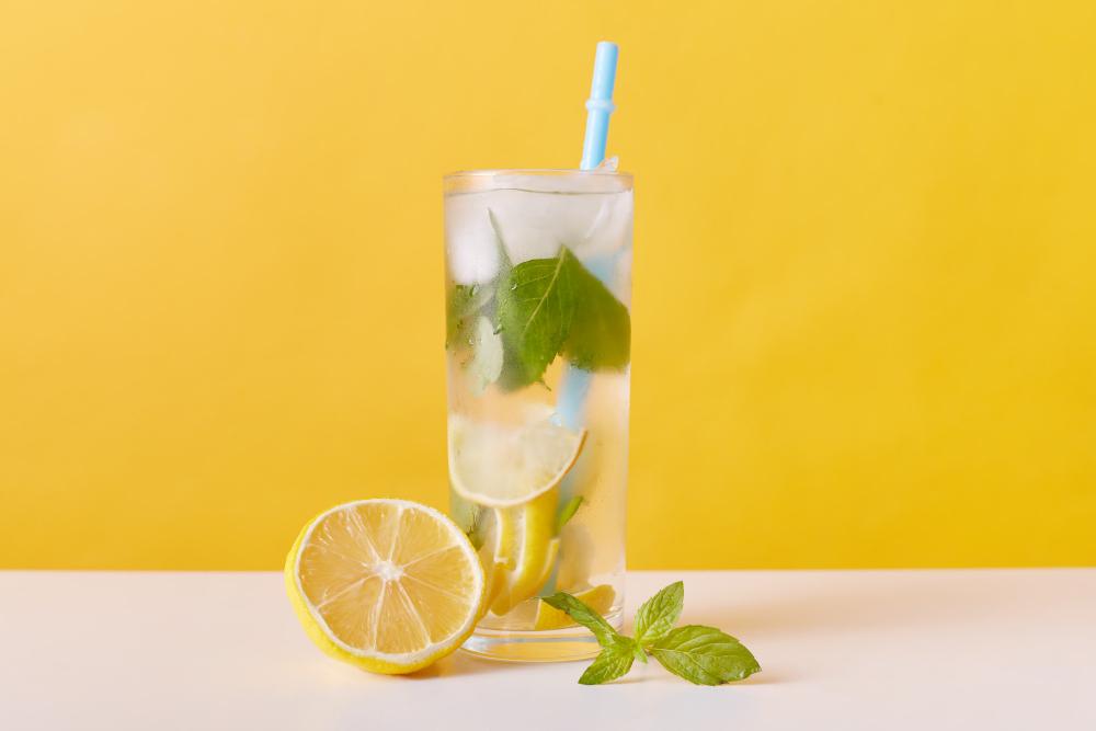 jus détox citron